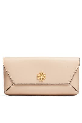 Sand Kira Envelope Clutch by Tory Burch Accessories