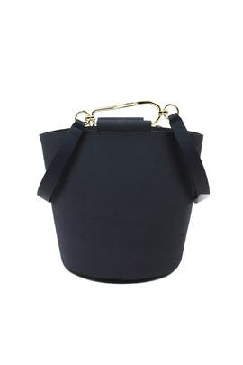Navy Belay Bucket Bag by ZAC Zac Posen Handbags