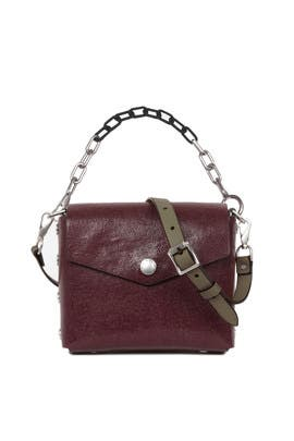 Merlot Atlas Shoulder Bag by rag & bone Accessories
