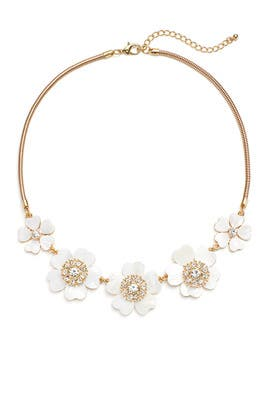 Daisy Statement Necklace by Slate & Willow Accessories