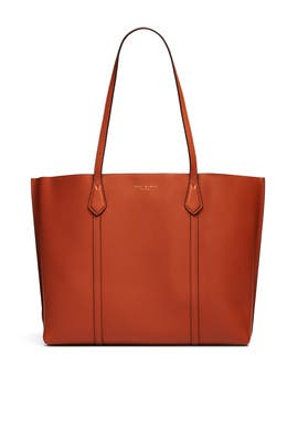 Light Umber Perry Tote by Tory Burch Accessories