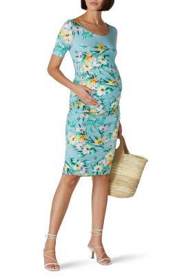Multi Blossom Maternity Dress by Yumi Kim