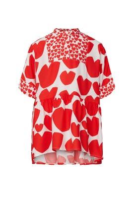 Kids Hearts Kimono Dress by Stella McCartney Kids