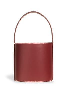 Bordeaux Bissett Bag by Staud Accessories