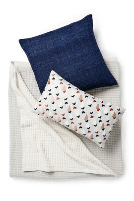 King Ellipse Tile Bedding Bundle by West Elm