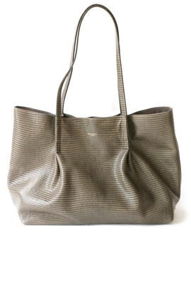 Smoked Grey Ondine  Medium Tote by Nina Ricci Accessories