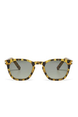 Leopard Sunglasses by Saint Laurent