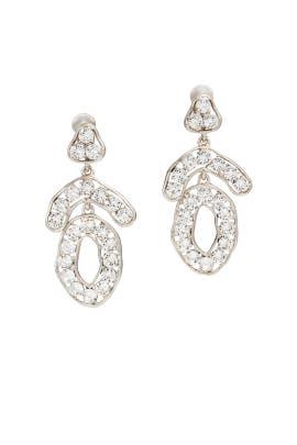 Triangle Top Earrings by Kenneth Jay Lane