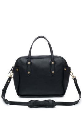 Black Clementine Bag by Annabel Ingall