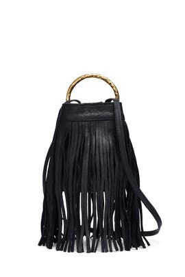 Monaco Fringe Crossbody by Cleobella Handbags