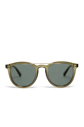 Fire Starter Claw Sunglasses by Le Specs