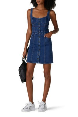 Denim Shannon Dress by 3x1