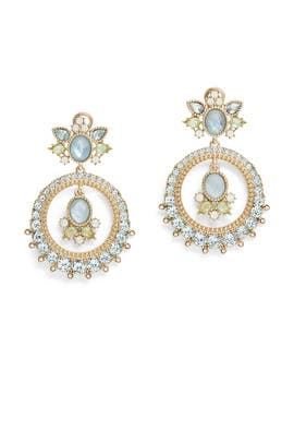Tranquil Tryst Orbital Earrings by Marchesa Jewelry