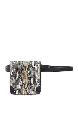 Python Pump Slim Belt Bag by Marge Sherwood
