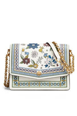 Ivory Robinson Shoulder Bag by Tory Burch Accessories