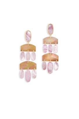 Blush Emmet Earrings by Kendra Scott