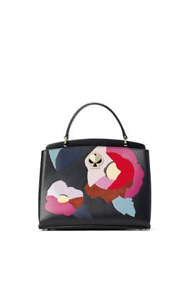 Black Multi Romy Small Satchel by kate spade new york accessories