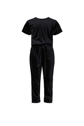 Kids Velvet Jumpsuit by DVF x Rockets of Awesome Kids