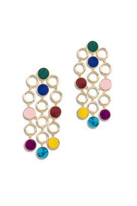Muti Triple Drop Earrings by Joanna Laura Constantine