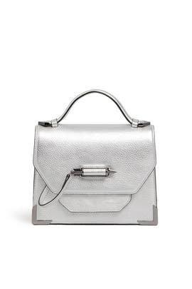 Silver Keeley Crossbody by Mackage Handbags
