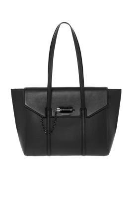 Black Barton Tote by Mackage Handbags