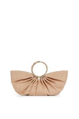Natural Banu Top Handle Bag by Cult Gaia Accessories