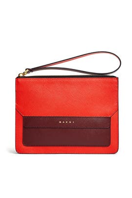 Orange Pochette Bag by Marni Accessories