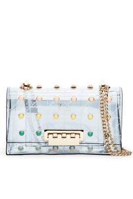 Pearl Lady Earthette Chain Shoulder Bag by ZAC Zac Posen Handbags