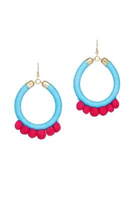 Turquoise Lauren Earrings by Area Stars