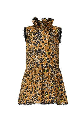Kids Leopard Ellie Dress by Harrison by Hunter Bell