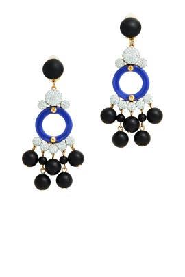 Boulevard Earrings by Lele Sadoughi