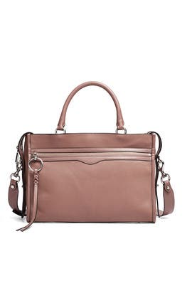 Mink Bedford Zip Satchel by Rebecca Minkoff Accessories