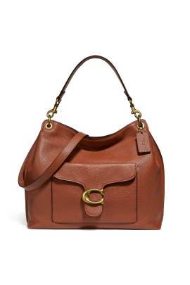 1941 Saddle Tabby Hobo Bag by Coach Handbags