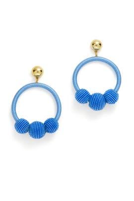 The Bead Goes On Hoop Earrings by kate spade new york accessories