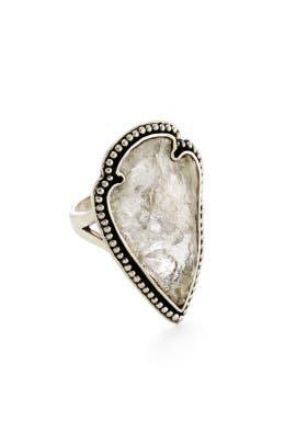 Arrowhead Ring by Pamela Love