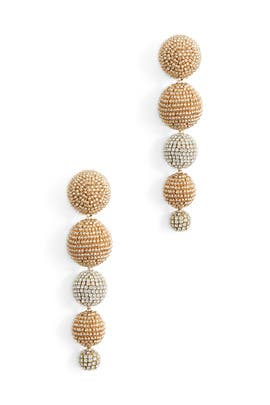 Crystal Maura Earrings by Sachin & Babi Accessories