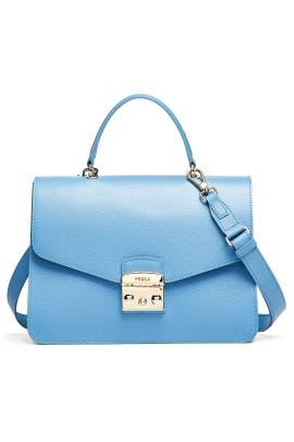 e9e80dcc3775 Blue Metropolis Medium Top Handle Bag by Furla for  65