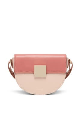 Blush Mini Oslo Crossbody by DeMellier London