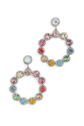 Multi Bella Earrings by Dannijo
