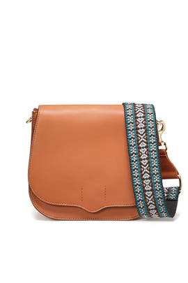 Camel Sunday Saddle Bag by Rebecca Minkoff Accessories