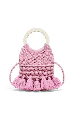 Lavender Monaco Tote by Cleobella Handbags