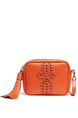 Carmine Tassel Neeson Crossbody Bag by Anya Hindmarch