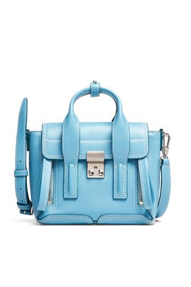 Blue Pashli Mini Satchel by 3.1 Phillip Lim Accessories
