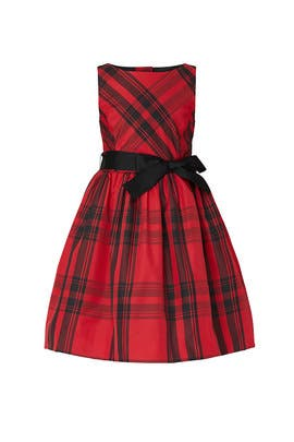 Kids Plaid Bow Dress by Ralph Lauren Kids