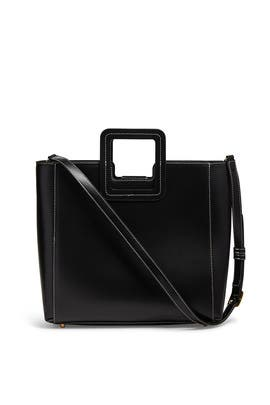 Black Shirley Bag by Staud Accessories