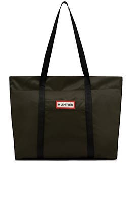 Olive Nylon Tote by Hunter Handbags