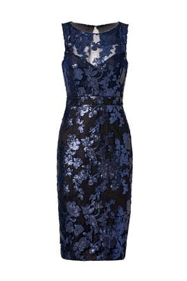 Garden of Sequins Dress by Badgley Mischka