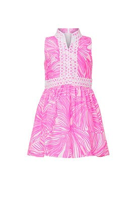 Kids Pink Franci Dress by Lilly Pulitzer Kids
