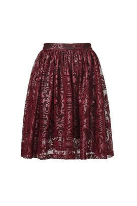 Lacquered Skirt by Parker