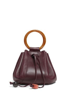 Burgundy Palma Mini Bag by Ulla Johnson Handbags